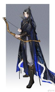 Liu Yuji, son of General Liu. He takes up his father's mantle of general, joining the military at a young age. He is the youngest Lt in the imperial army, and the best archer Fantasy Art Men, Anime Art Fantasy, Chinese Artwork, Hot Anime Guys, Anime Boys, Some Beautiful Pictures, Boy Character, Harry Potter, Handsome Anime