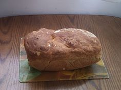 homemade bread with potato water