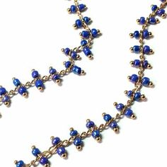 New glass rozarios chains New collection fw 2015 jewelry components