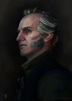 -The Witcher: Regis- by Fiwen