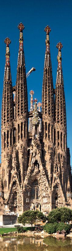 Works of Antoni Gaudí(Expiatori de la Sagrada Família),Barcelona Spain