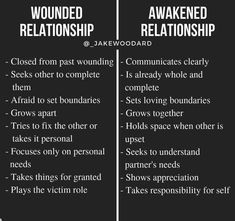 I have personally experienced many wounded relationships. This is because I was attracting partners from my own wounds that I hadn't… Healthy Relationships, Relationship Advice, Relationship Psychology, Mental And Emotional Health, Go For It, Emotional Intelligence, Wisdom Quotes, Self Improvement, Self Help