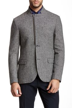 Tiger of Sweden Jaron Wool Tweed Blazer