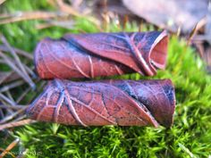 More of my dread beads :) By naessla, etsy.com :: Shop DreadStop.Com for Leather Dreadlock Cuffs, Ties & Dread Beads #dreadstop
