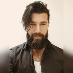 Beautiful bearded man!!!! Franggy Yanez