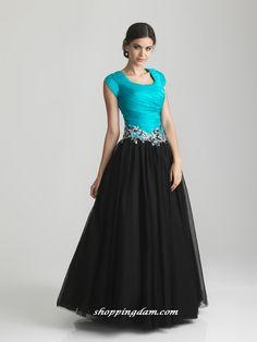 Hailey -Modest Mormon LDS Prom Dress | Modest Prom Dresses ...