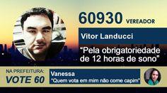 Vote Vitor! Na prefeitura, Vanessa