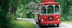 Enjoy a 1-hour historical tour trough the scenic Delaware Water Gap on the Water Gap Trolley in the #PoconoMtns!