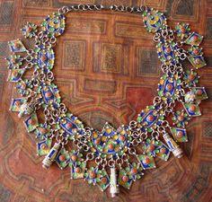 Beautiful Kabyle necklace, Algeria