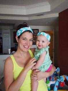 Mom and Baby Turban Headbands!