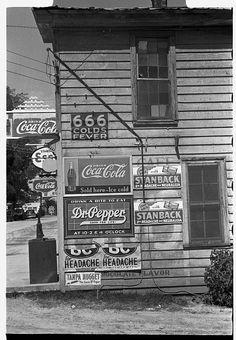 Side of a store, Halifax, North Carolina