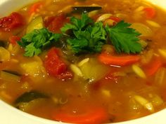 A Food Lover's Delight offers this Minestrone Soup recipe as well as advice and discussion on all topics of delight to a food lover. Minestrone Soup Ingredients, Minestrone Soup Slow Cooker, My Recipes, Soup Recipes, Italian Gravy, Alphabet Pasta, Small Pasta, Whole Grain Bread, Whole Foods Market