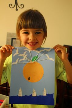 james and the giant peach craft - Google Search