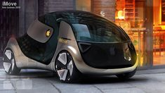 Apple iCar – A Dream Left Incomplete By Steve Jobs - futuristic look Transport Futur, Design Transport, Kia Soul, E Mobility, Future Transportation, Super Secret, Futuristic Cars, Cute Cars, Steve Jobs