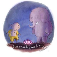 Buddha Doodle: beautiful mess