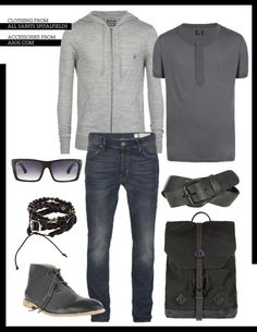 Mens weekend look.