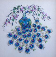 Brazilian Dimensional Stitchery Embroidery Pattern. by MyOldTrunk