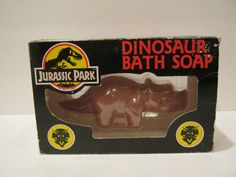 Extremely Rare Jurassic Park Bath Soap - Triceratops - Long out of production!  | eBay