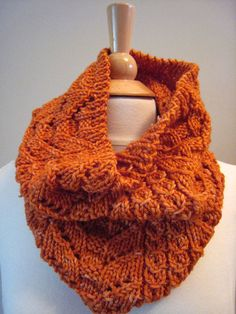 Cloudy Fall Cowl Knitting Pattern by LittlePing on Etsy, $5.00