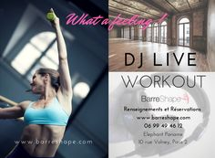 26 mars 2017: What a feeling! DJ Live Workout