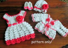 Hey, I found this really awesome Etsy listing at https://www.etsy.com/listing/232009138/crochet-baby-dress-hat-sweater-ballerina