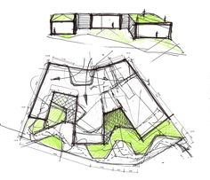 Gallery of Day-Care Center for Elderly People / Francisco Gómez Díaz + Baum Lab - 20 Gallery - Day-Care Center for Elderly People / Francisco Gómez Díaz + Baum Lab - 20 of Day-Care Center for Elderly People / Francisco Gómez Díaz + Baum Lab - 20 Gallery - Architecture Concept Drawings, Architecture Sketchbook, Architecture Student, Architecture Plan, As Built Drawings, Elderly Care, Co Working, Planer, Floor Plans