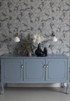 add: design / anna stenberg / lantligt på svanängen: Blå jul! Decor, Furniture, Interior, Cabinet, Deco, Home Decor, Inspiration, Storage, Furnishings