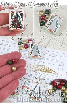 Alpha Stamps News » Christmas Beads, Retro Elves & FREE Gift!