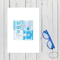 laminas azules, lamina azul, blue, laminas nordicas, cuadro rosa, laminas A4, laminas A3, laminas imprimibles, lamina puzzle, puzzle azul, laminas bonitas, laminas originales, azul, blue, color azul, puzzle, laminas decorativas, laminas escandinavas, cuadros escandinavos