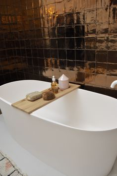Discover recipes, home ideas, style inspiration and other ideas to try. Loft Bathroom, Chic Bathrooms, Bathroom Toilets, Downstairs Bathroom, Bathroom Inspo, Bathroom Styling, Bathroom Inspiration, House Extension Design, Restroom Design