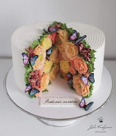 Cake Decorating 744712488371331641 - Wouldn't this be neat for a bridal shower? – Wouldn't this be neat for a bridal shower? Source by marinajorgecarmelo – Source by Fancy Cakes, Cute Cakes, Pretty Cakes, Gorgeous Cakes, Amazing Cakes, Bolo Cake, Cake Decorating Techniques, Cake Decorating Tutorials, Creative Cakes