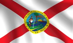Florida State Flag. The Sunshine State.