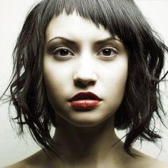 Konturowanie twarzy fryzurą | Blog o włosach i fryzurach