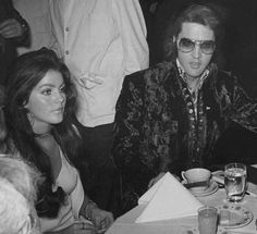 Elvis and Priscilla (US Jaycee's Ceremony 1971)