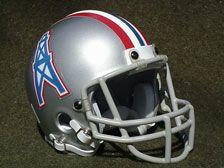 Houston Oilers Football Helmet (1967-1969)