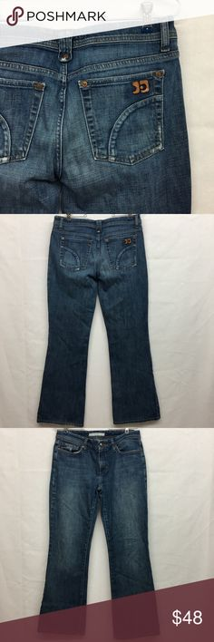 """Joes Jeans Provocateur Fit Joes Jeans Provocateur Fit. Excellent used condition. No flaws. Size 29. Waist laying flat 16"""". Rise 8"""". Inseam 29 1/2"""". Bottom leg opening 9"""". Joe's Jeans Jeans Boot Cut"""