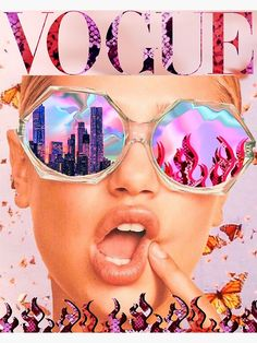 'VOGUE reflections ' Poster by byoungcollages - - Millions of unique designs by independent artists. Collage Mural, Bedroom Wall Collage, Photo Wall Collage, Wall Art Collages, Wall Collage Decor, College Walls, Dorm Walls, Aesthetic Collage, Aesthetic Photo
