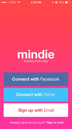 mindie sign up