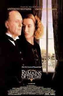 The Remains of the Day, 1993. This was so good.