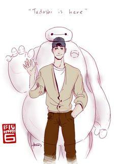 Tadashi is here ❤