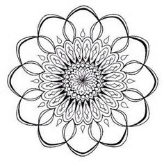 zentangle mandala Coloring Pages for Adults - Bing Images