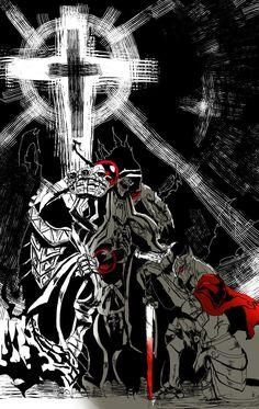 Albedo, Warhammer 40000, Dark Souls, Manga, Dark Art, Aesthetic Anime, Character Art, Anime Art, Digital Art