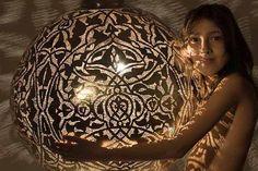 egyptian design, ceiling light