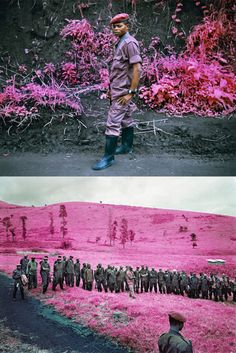 Infrared photography by Richard Mosse (via @Diana Moss)