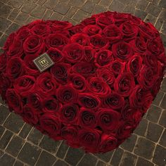 Red Color, Heart, Flowers, Royal Icing Flowers, Florals, Flower, Bloemen, Blossoms