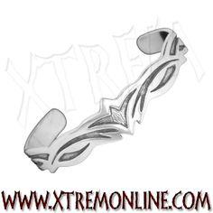 Brazalete tribal XT3786. Echa un vistazo a nuestra colección de brazaletes y pulseras celtas, vikingos y tribales.
