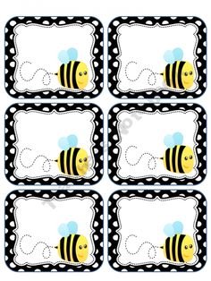 FREE Bee Labels @Tonya Seemann perniciaro