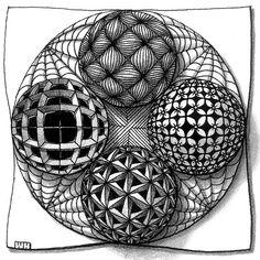 how to draw zentangle cube Doodles Zentangles, Tangle Doodle, Zentangle Drawings, Zen Doodle, Doodle Drawings, Doodle Art, Pencil Drawings, Op Art, Zantangle Art