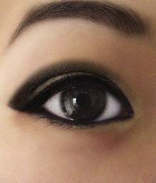 Pretty asian eye
