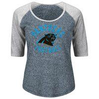 10a029fc4 Carolina Panthers Women s Act Like A Champion NFL T-Shirt  The Carolina  Panthers Women
